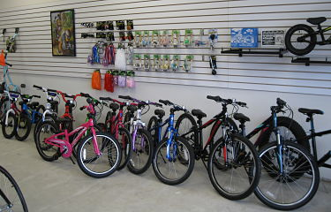 We have a good selection of kid's bikes.