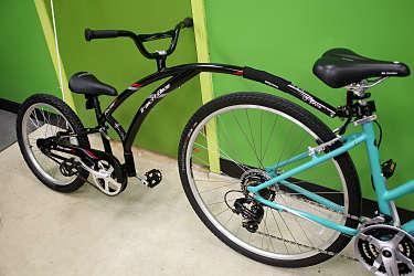 Take the kids along with a trail-a-bike