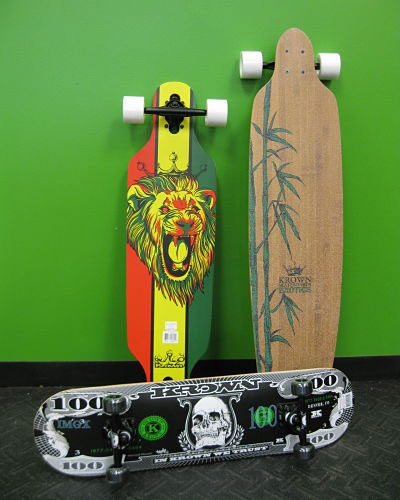 A few of our favorite Skateboards